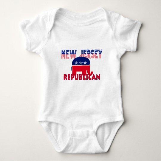 New Jersey Republican Baby Bodysuit