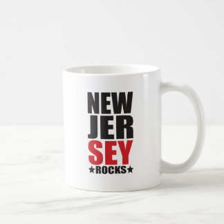 New Jersey Rocks! State Spirit Gifts and Apparel Coffee Mugs