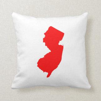New Jersey rojo Almohada