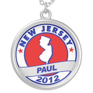 New Jersey Ron Paul Personalized Necklace