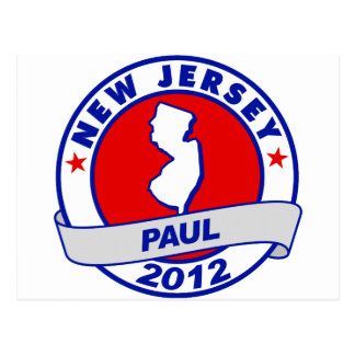 New Jersey Ron Paul Postales