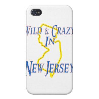 New Jersey - salvaje y loco iPhone 4 Cárcasa