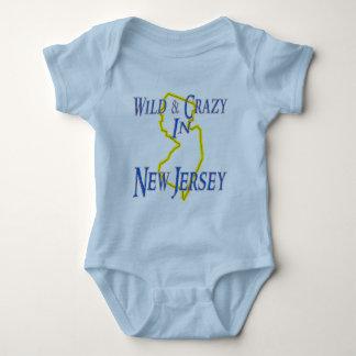 New Jersey - salvaje y loco Playera