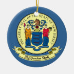 New Jersey Seal Ornaments