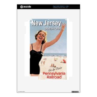 New Jersey Seashore iPad 2 Decal