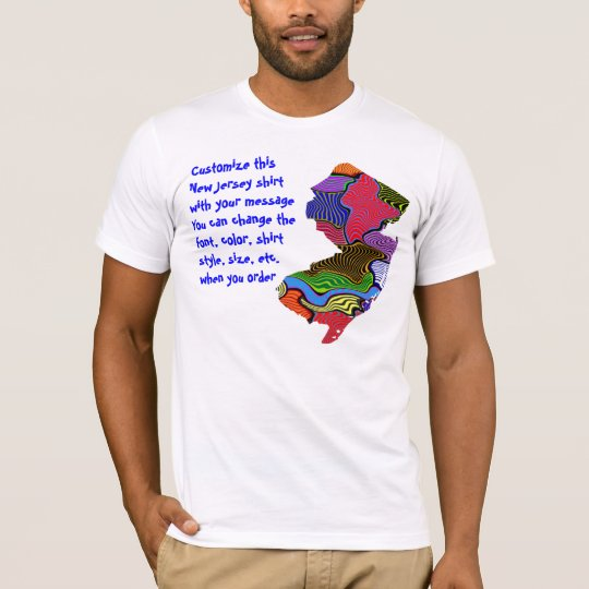 New Jersey Shirt - Custom with Election or other