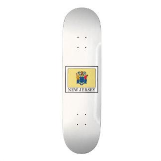 New Jersey Skateboard Deck