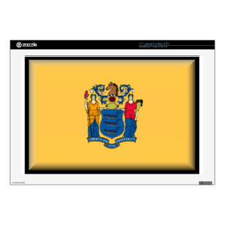 "New Jersey 17"" Laptop Decals"