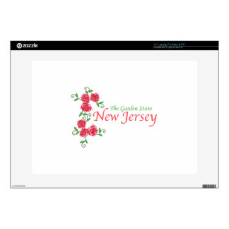 """NEW JERSEY 15"""" LAPTOP DECAL"""