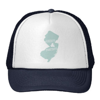 New Jersey Slogan Trucker Hat