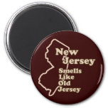 New Jersey Smells Like Old Jersey Fridge Magnets