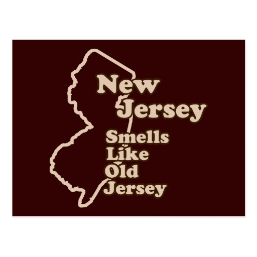 New Jersey Smells Like Old Jersey Postcard