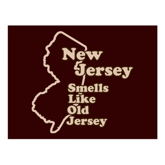 New Jersey Smells Like Old Jersey Postcard