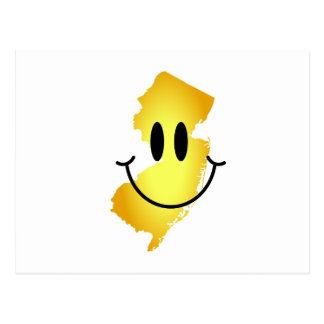 New Jersey Smiley Face Post Card