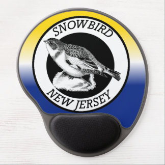 New Jersey Snowbird Shield Gel Mouse Pad