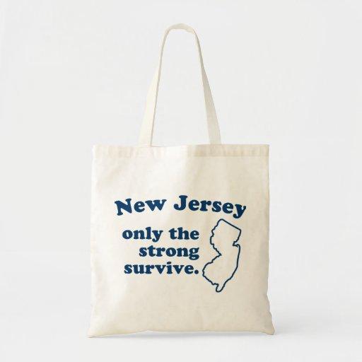 New Jersey solamente que el fuertes sobreviven Bolsa De Mano