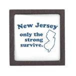 New Jersey solamente que el fuertes sobreviven Caja De Joyas De Calidad