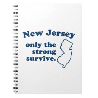 New Jersey solamente que el fuertes sobreviven Libreta Espiral