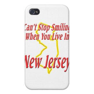 New Jersey - sonriendo iPhone 4/4S Funda