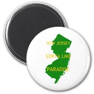 New Jersey Sorta tiene gusto de paraíso Imán De Nevera