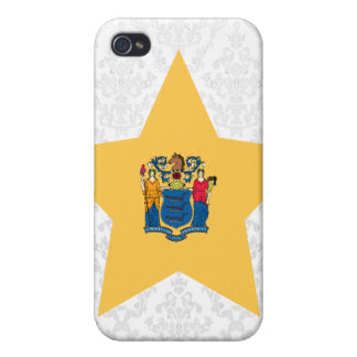 New+Jersey Star Cover For iPhone 4