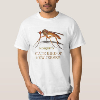 NEW JERSEY STATE BIRD: THE MOSQUITO TEE SHIRT