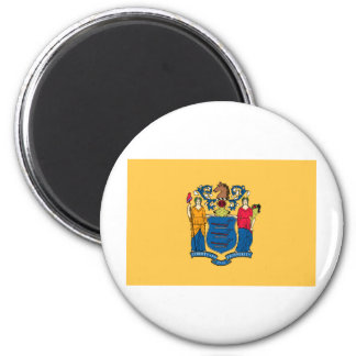 New Jersey State Flag 2 Inch Round Magnet
