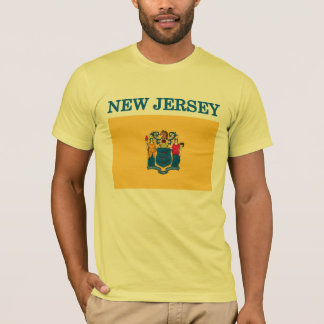 New Jersey State Flag American Apparel T-shirt