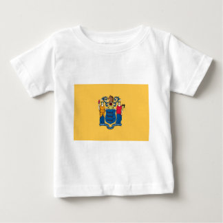 New Jersey State Flag Baby T-Shirt