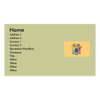 New Jersey State Flag Double-Sided Standard Business Cards (Pack Of 100)