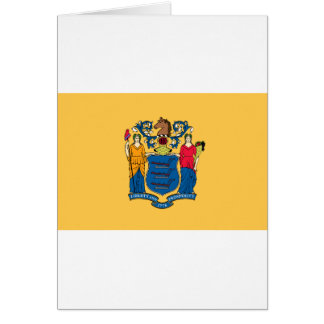 New Jersey State Flag Card