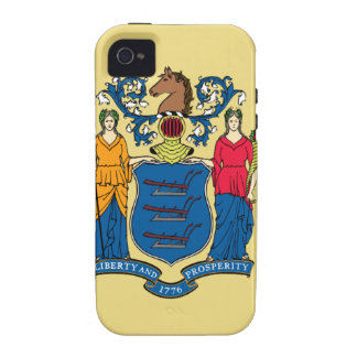 New Jersey State Flag Case-Mate iPhone 4 Cases