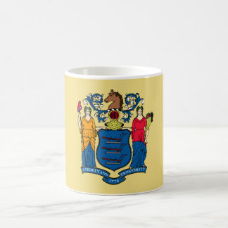 New Jersey State Flag Coffee Mug