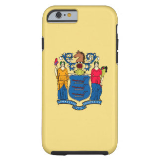 New Jersey State Flag Design Decor Tough iPhone 6 Case