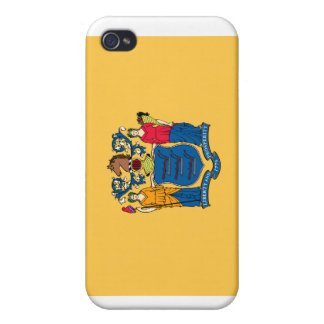 New Jersey State Flag iPhone 4 Cases