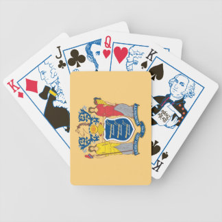 New Jersey State Flag Playing Cards