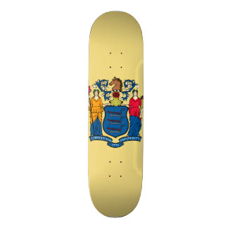 New Jersey State Flag Skateboards