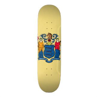 New Jersey State Flag Skateboard Deck