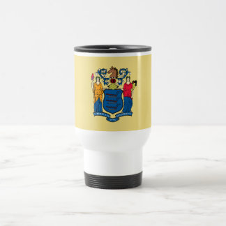 New Jersey State Flag Travel Mug