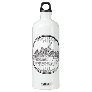 New Jersey State Quarter Water Bottle