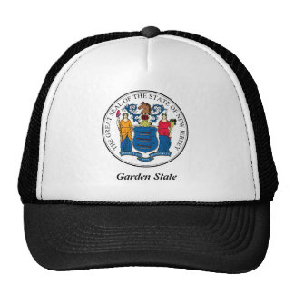 New Jersey State Seal and Motto Hats