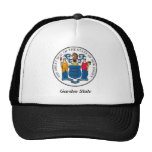 New Jersey State Seal and Motto Trucker Hat