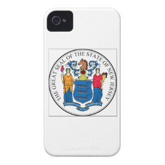 New Jersey State Seal iPhone 4 Case-Mate Case