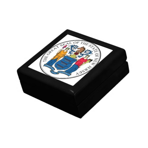 New Jersey State Seal Gift Box