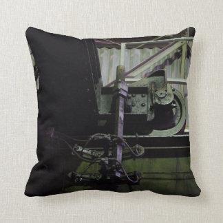 New Jersey Steel Mill Throw Pillow