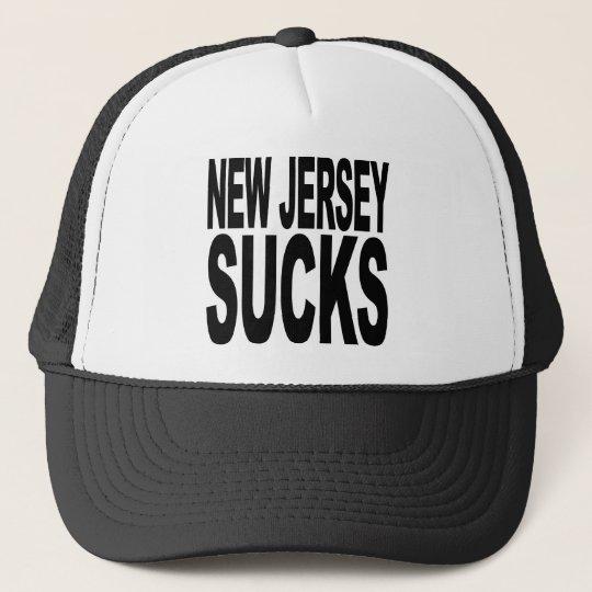 New Jersey Sucks Trucker Hat