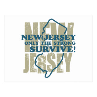 New Jersey Tarjeta Postal