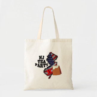 new jersey tea party 2010 budget tote bag