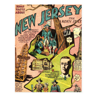 New Jersey the Garden State Postcard