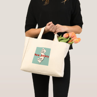 New Jersey: the strong survive, the rest get eaten Mini Tote Bag